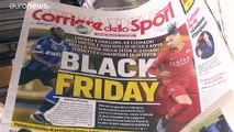 """العنوان """"البغيض"""" لصحيفة إيطالية زمن تفشي العنصرية في ملاعب كرة القدم"""