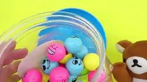 Learn colors with new face smile balls for children