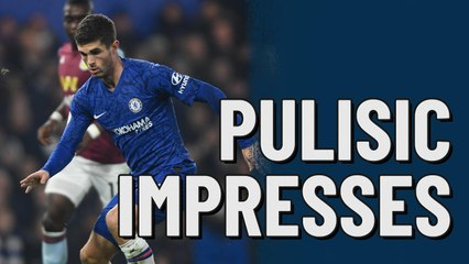Christian Pulisic playing well for Chelsea