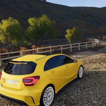 Forza Horizon 4 - MERCEDES-BENZ A45 AMG - OFF-ROAD in fortune island - 1080p60FPS