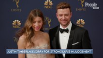 Justin Timberlake Apologizes to Wife Jessica Biel After 'Strong Lapse in Judgment'