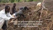Intempéries au Kenya: des villageois fouillent les décombres