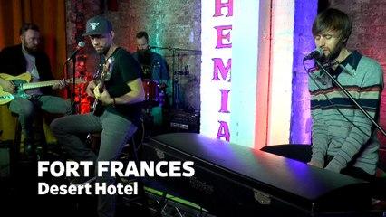 "Dailymotion Elevate: Fort Frances - ""Desert Hotel"" Cafe Bohemia, NYC"