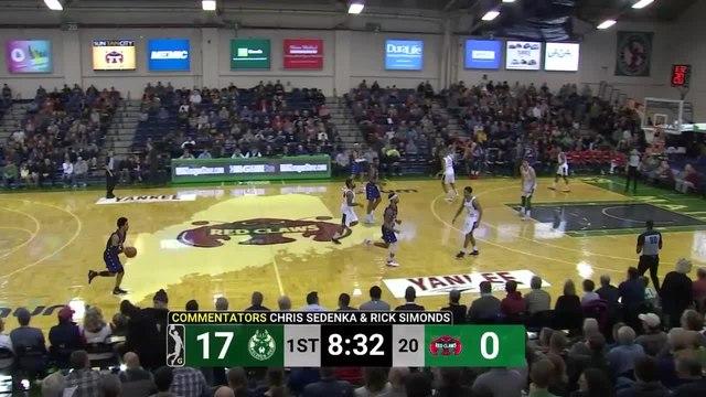 Yante Maten Posts 13 points & 15 rebounds vs. Wisconsin Herd