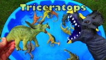 Dinosaurs Toys for kids, Dinosaurs Learn Names, Jurassic World Dinosaur Educational Video