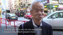 Hong Kongers give their views on six months of protests in the city