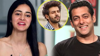 Ananya Panday Wants To Get Married To SALMAN KHAN | Pati Patni Aur Woh Promotions