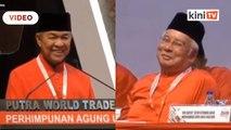 Najib hadir PAU, Zahid kata malu apa bossku