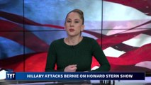 Hillary Clinton ATTACKS Bernie Sanders on Howard Stern Show