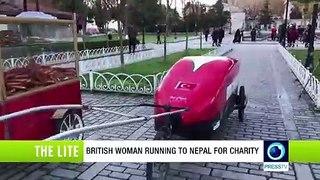 British woman running to Nepal for charity