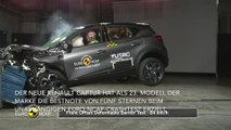 Neuer Renault Captur erzielt fünf Sterne im Euro NCAP-Crashtest