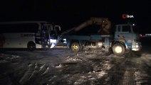 Kayseri'de Trafik Kazası, Otomobil Yolcu Otobüsüne Çarptı 2 Ölü 1 Yaralı İha