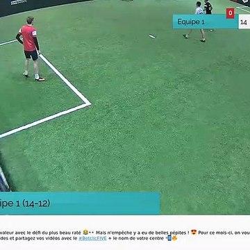 But de Equipe 1 (14-12)