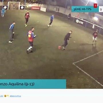 But de Lorenzo Aquilina (9-13)