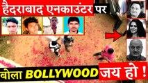 Bollywood Stars Reaction On Hyderabad Case Encounter