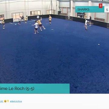 But de maxime Le Roch (5-5)