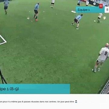 But de Equipe 1 (8-9)