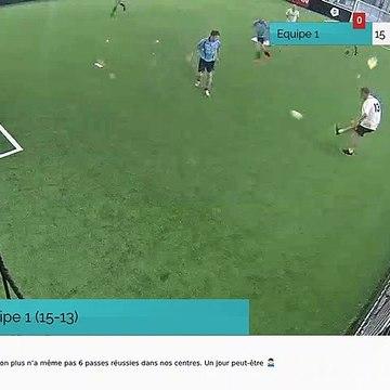 But de Equipe 1 (15-13)