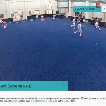 But de Vincent Sopena (0-1)