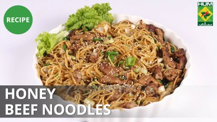 Honey Beef Noodles | Tarka | Rida Aftab