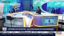Michel Yahiel (Caisse des Dépôts) : Réforme des retraites, les concessions du gouvernement - 06/12