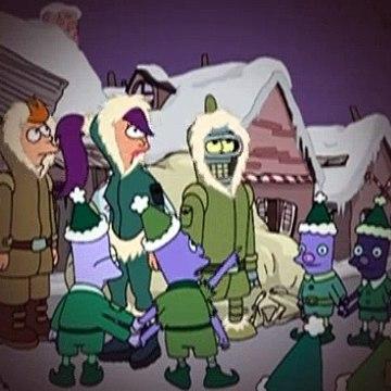 Futurama S04E02 A Tale Of Two Santas