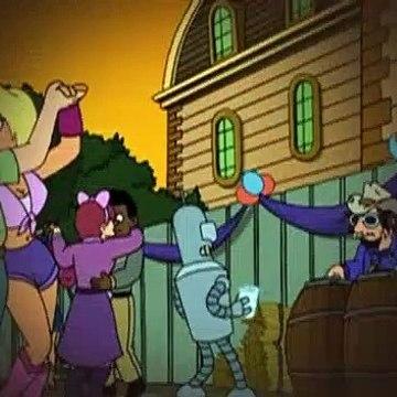 Futurama S04E06 Where The Buggalo Roam