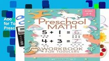 About For Books  Preschool Math Workbook for Toddlers Ages 2-4: Beginner Math Preschool Learning