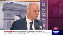 Retraites: Jean-Michel Blanquer évoque une augmentation des salaires et des primes pour les enseignants dès le 1er janvier 2021