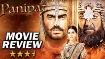 PANIPAT - MOVIE REVIEW - ARJUN KAPOOR, SANJAY DUTT , KRITI SANON