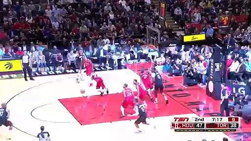 Rockets 119 - 109 Raptors