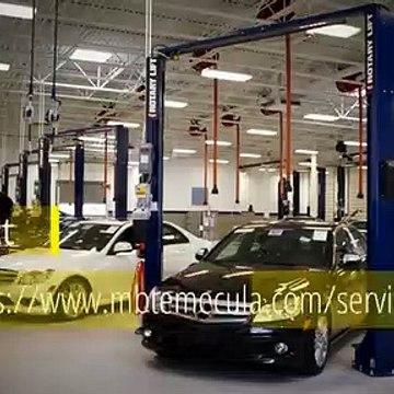 Mercedes-Benz Service Center in California