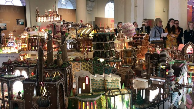 The Gingerbread City!