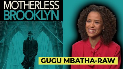 Motherless Brooklyn: Gugu Mbatha-Raw talks love of New York and depicting the 50's in a fresh way