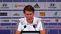 Football - Ligue 1 - Conférence de presse de Rudi Garcia avant le match contre Nîmes
