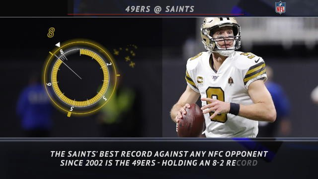 5 Things - Saints love playing the 49ers