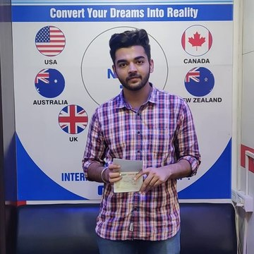 How to get a student visa within 6 days?  Ishnoor's visa was approved