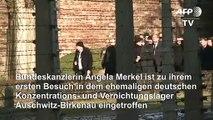 Merkel besucht zum ersten Mal KZ-Gedenkstätte Auschwitz