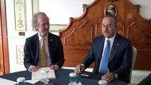 Dışişleri Bakanı Çavuşoğlu, BM Suriye Özel Temsilcisi Pedersen ile görüştü