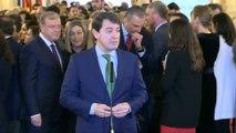 Mañueco apela a la búsqueda de un consenso de las fuerzas políticas
