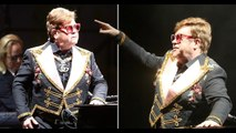 Elton John drops C-bomb and tells security to 'f**k off' in mid-concert outburst