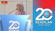Kongres Nasional PKR 2019: Jangan jadikan kekecohan budaya Keadilan