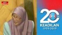 Kongres Nasional PKR 2019: Suruh dia datang mesyuarat - Wan Azizah