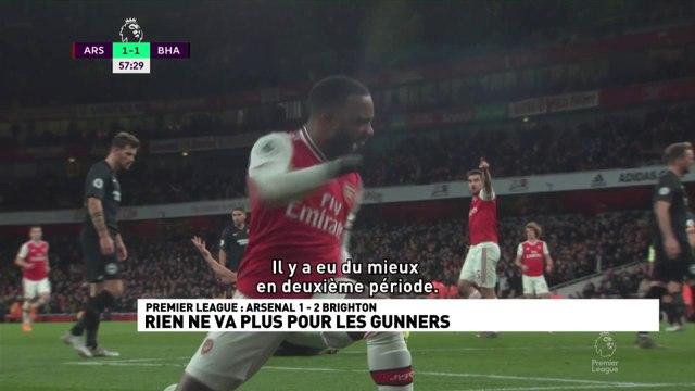 Arsenal 1-2 Brighton Rien ne va plus chez les Gunners
