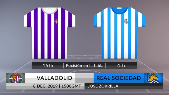 Match Preview: Valladolid vs Real Sociedad on 08/12/2019