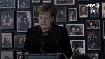 """Merkel: Auschwitz """"ist fester Teil unserer nationalen Identität"""""""