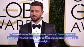 Justin Timberlake emite disculpa pública tras rumores de infidelidad