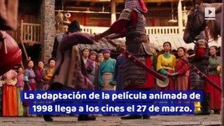 Disney lanza el primer trailer de 'Mulan'