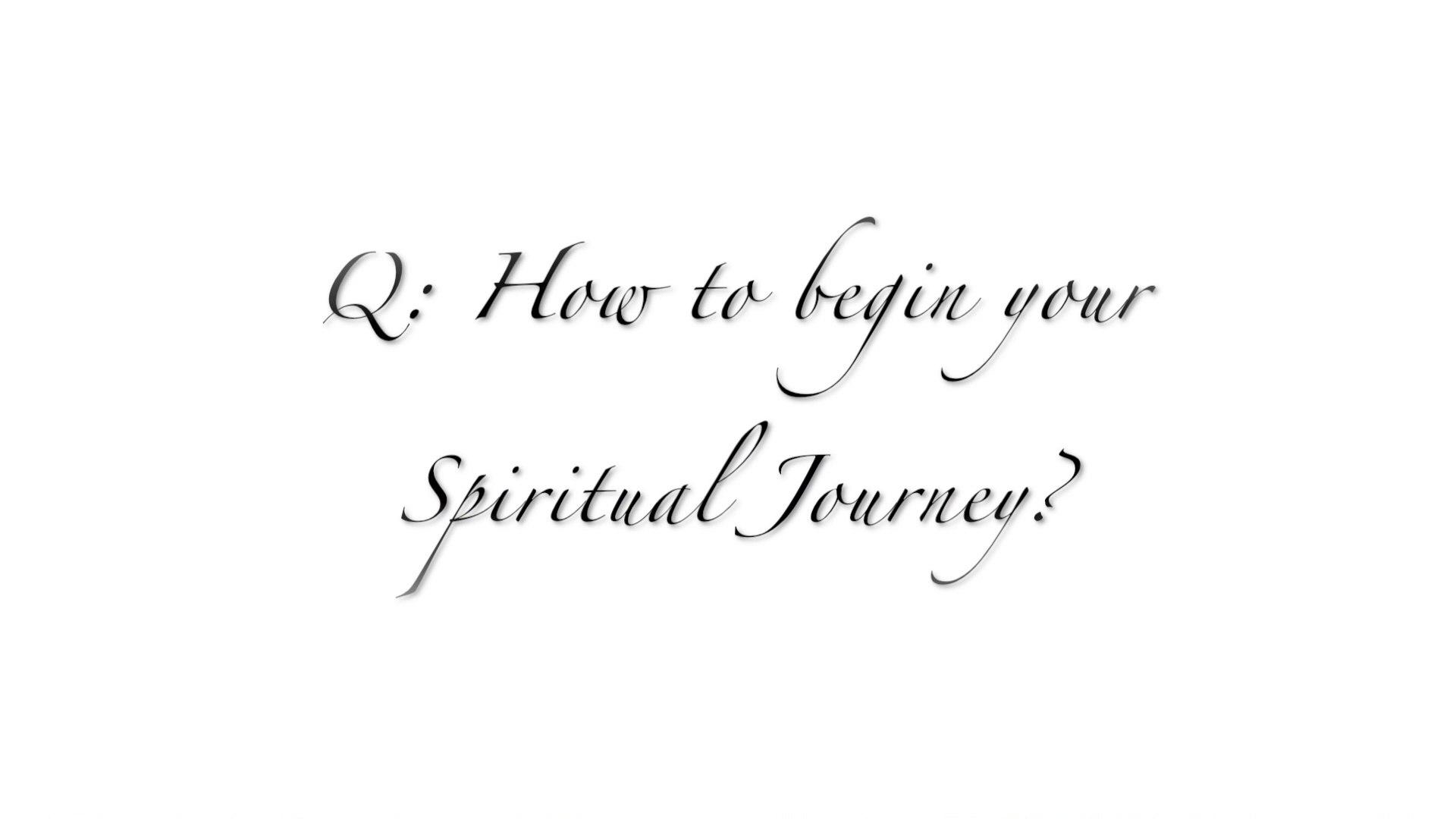 How To Begin Your Spiritual Journey?| Spiritual Quest | EP 07 | Spirituality 101 Series | KrsnaKnows