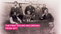 Hear the first ever sound recording and the inventions it sparked